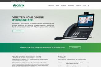 Produktové weby Yealink aYeastar spuštěny